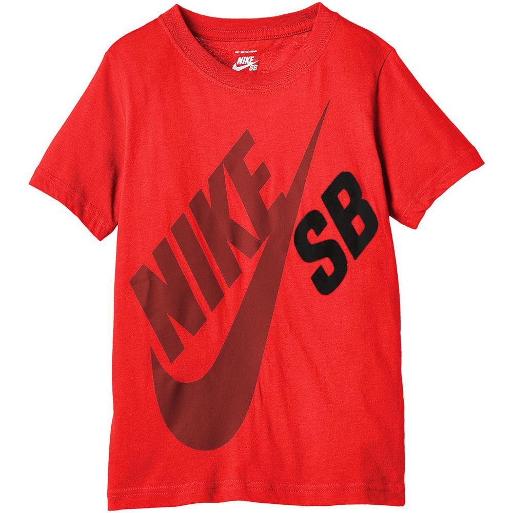 Nike-SB-Big-Logo-Kinder-T-Shirt-Jungen-Tee-Maedchen-Shirt