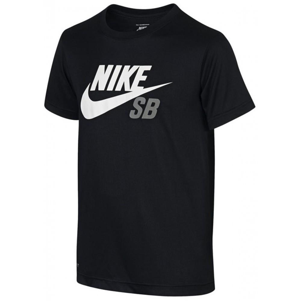 Nike-SB-Dri-Fit-Logo-Kinder-T-Shirt-Jungen-Tee-Maedchen-Shirt