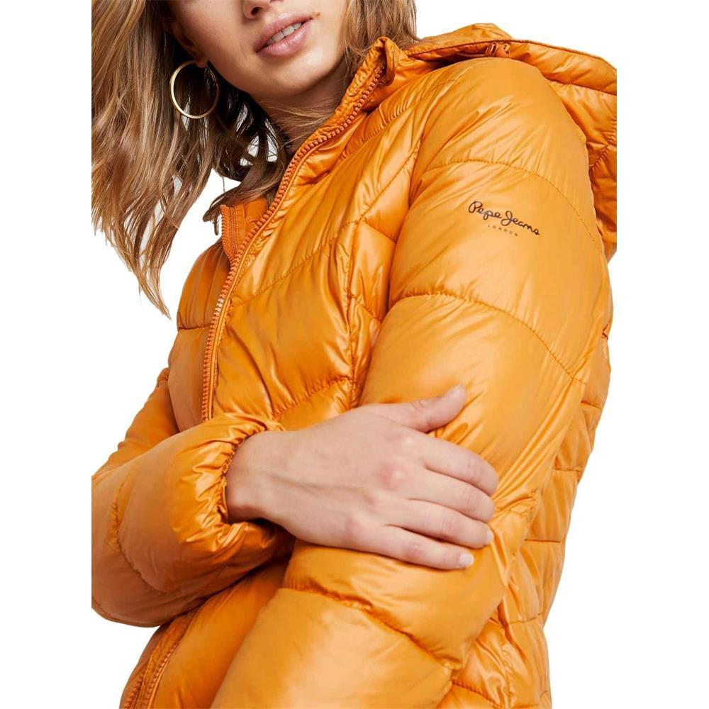 miniatura 9 - Pepe-Jeans-Imani-Damen-Jacke-Winterjacke-Kapuzenjacke-Steppjacke