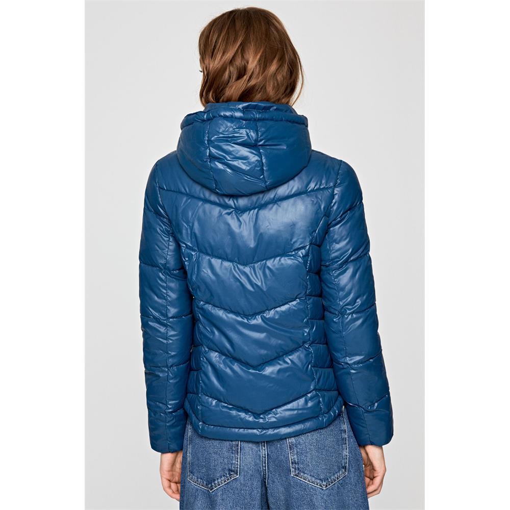 miniatura 5 - Pepe-Jeans-Imani-Damen-Jacke-Winterjacke-Kapuzenjacke-Steppjacke