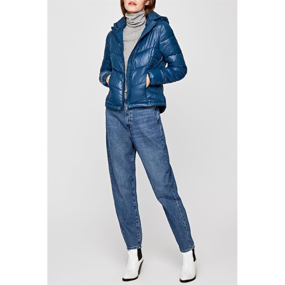 miniatura 6 - Pepe-Jeans-Imani-Damen-Jacke-Winterjacke-Kapuzenjacke-Steppjacke