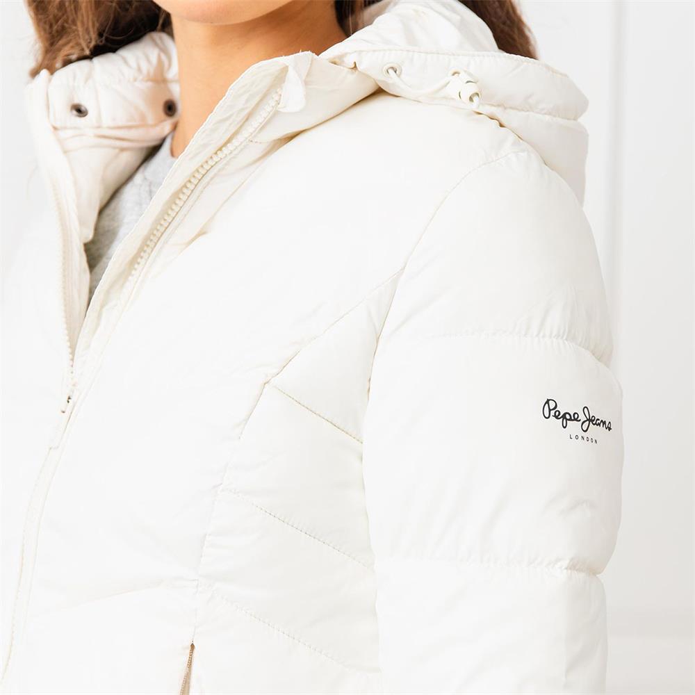 miniatura 26 - Pepe-Jeans-Imani-Damen-Jacke-Winterjacke-Kapuzenjacke-Steppjacke