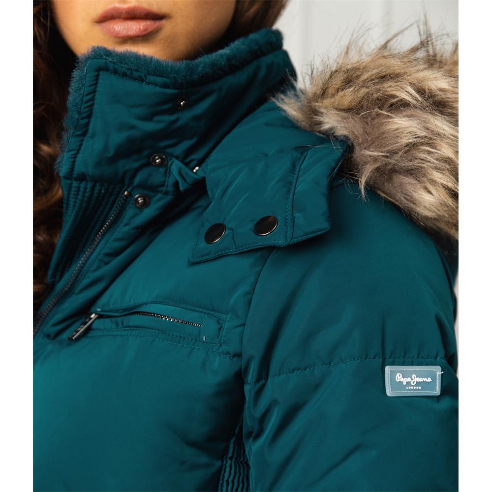 miniatura 18 - Pepe-Jeans-Lynn-Damen-Parka-Jacke-Winterjacke-Kapuzenjacke-Steppjacke-Mantel
