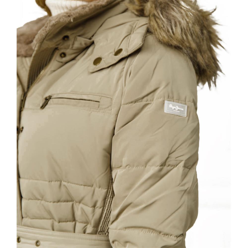 miniatura 6 - Pepe-Jeans-Lynn-Damen-Parka-Jacke-Winterjacke-Kapuzenjacke-Steppjacke-Mantel