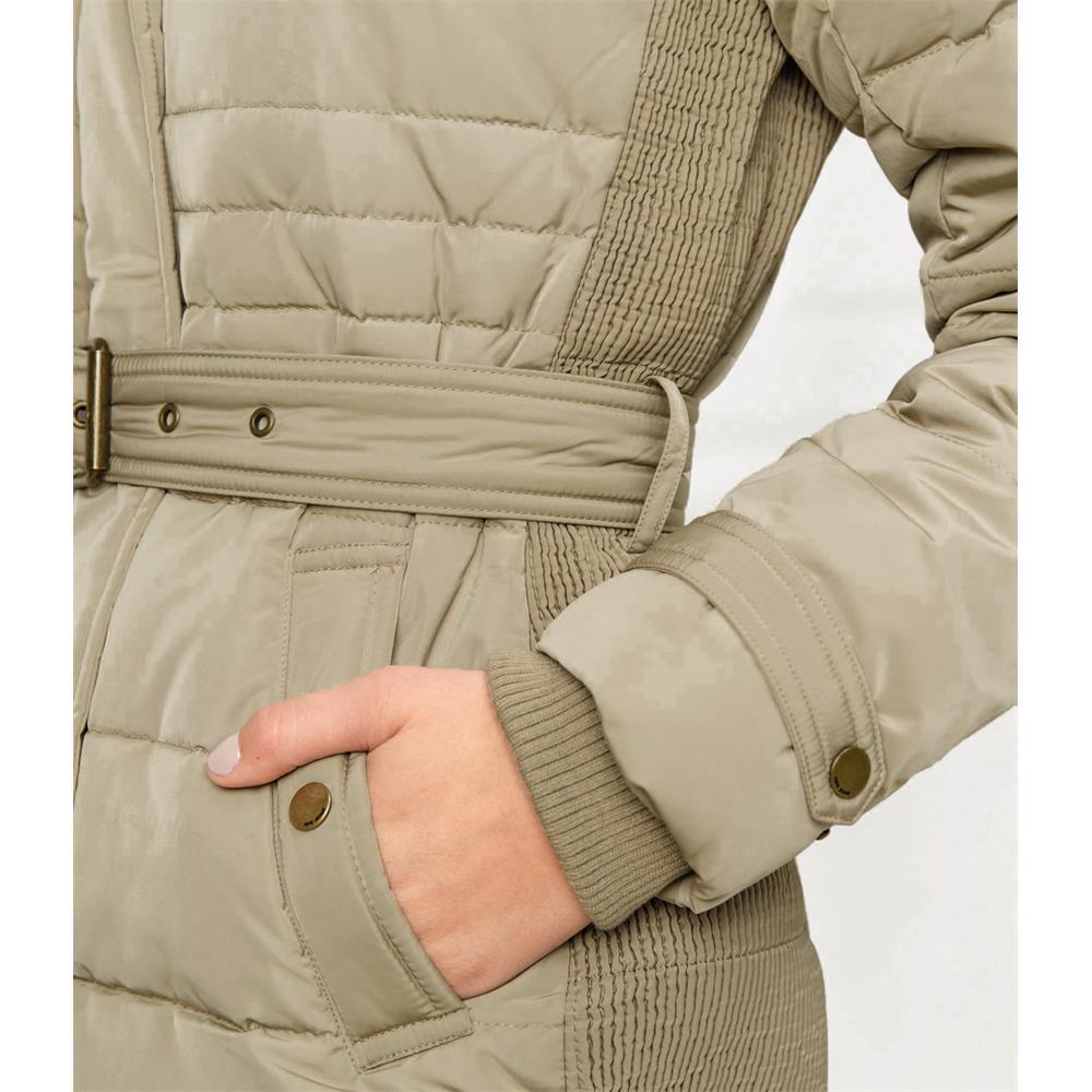 miniatura 7 - Pepe-Jeans-Lynn-Damen-Parka-Jacke-Winterjacke-Kapuzenjacke-Steppjacke-Mantel
