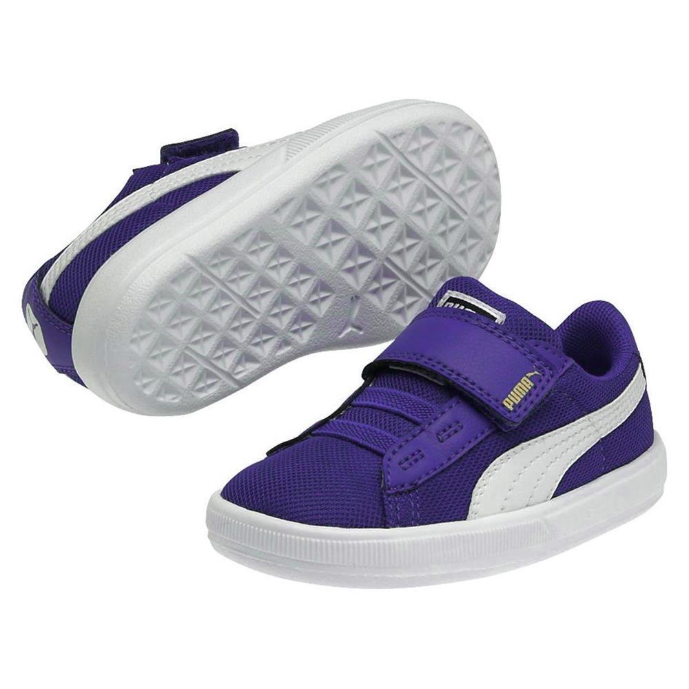 Lilatöne Lite V Sport Archive Puma Tennis Sneaker Enfants Chaussures xqPf868wA