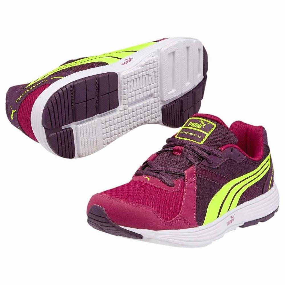Puma-Descendant-V2-Damen-Running-Schuhe-Laufschuhe-Faas-Sportschuhe-Turnschuhe
