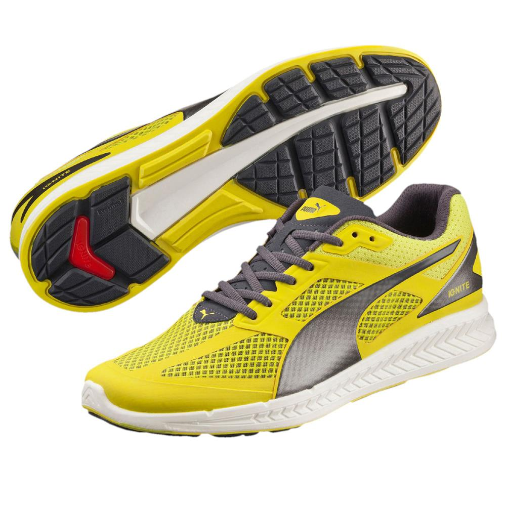 Puma - Ignite Mesh Sneakers da Uomo Giallo (gelb (sulphur Spring ... 8822d25ccb2