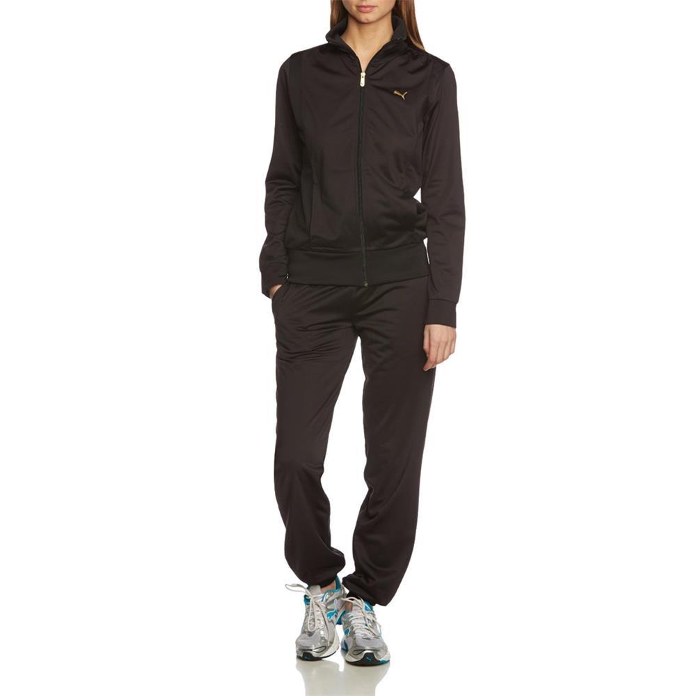 Puma-Poly-Suit-Closed-Tracksuit-Trainingsanzug-Sportanzug-Jogginganzug-Anzug