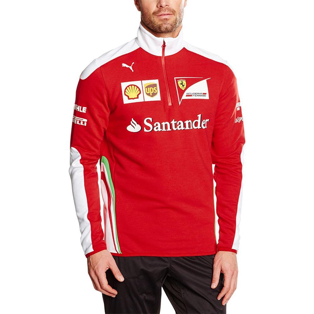 Puma-SF-Team-Half-Zip-Fleece-Scuderia-Ferrari-Formel-1-Sweatshirt-761948