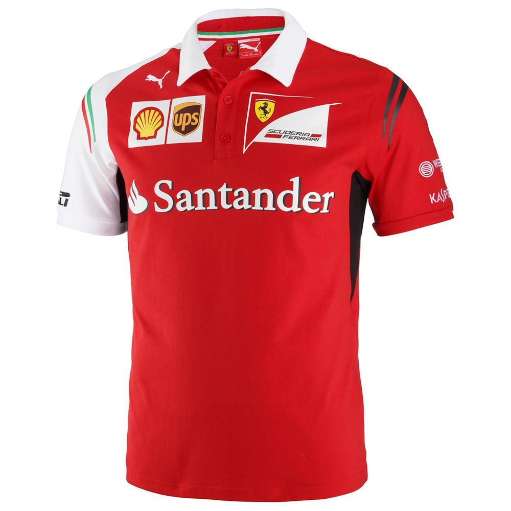 Puma-SF-Team-Polo-Scuderia-Ferrari-Official-Formel-1-Shirt-Hemd-Poloshirt-761460