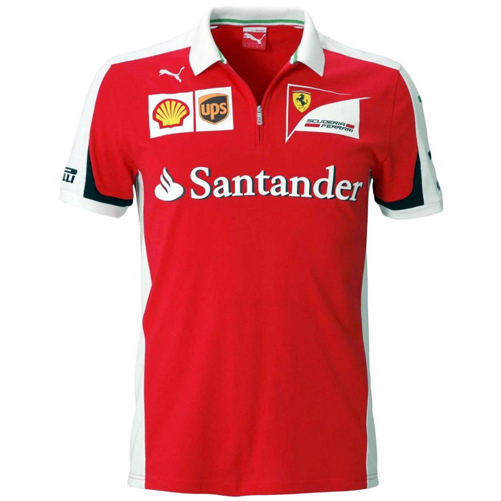 Puma-SF-Team-Polo-Scuderia-Ferrari-Formel-1-Shirt-Hemd-Poloshirt-761668