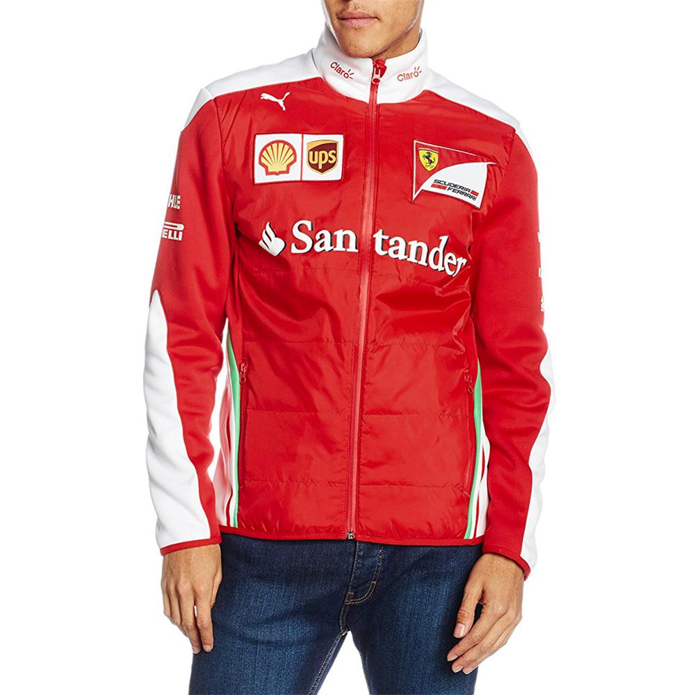 puma sf team softshell jacke scuderia ferrari formel 1. Black Bedroom Furniture Sets. Home Design Ideas
