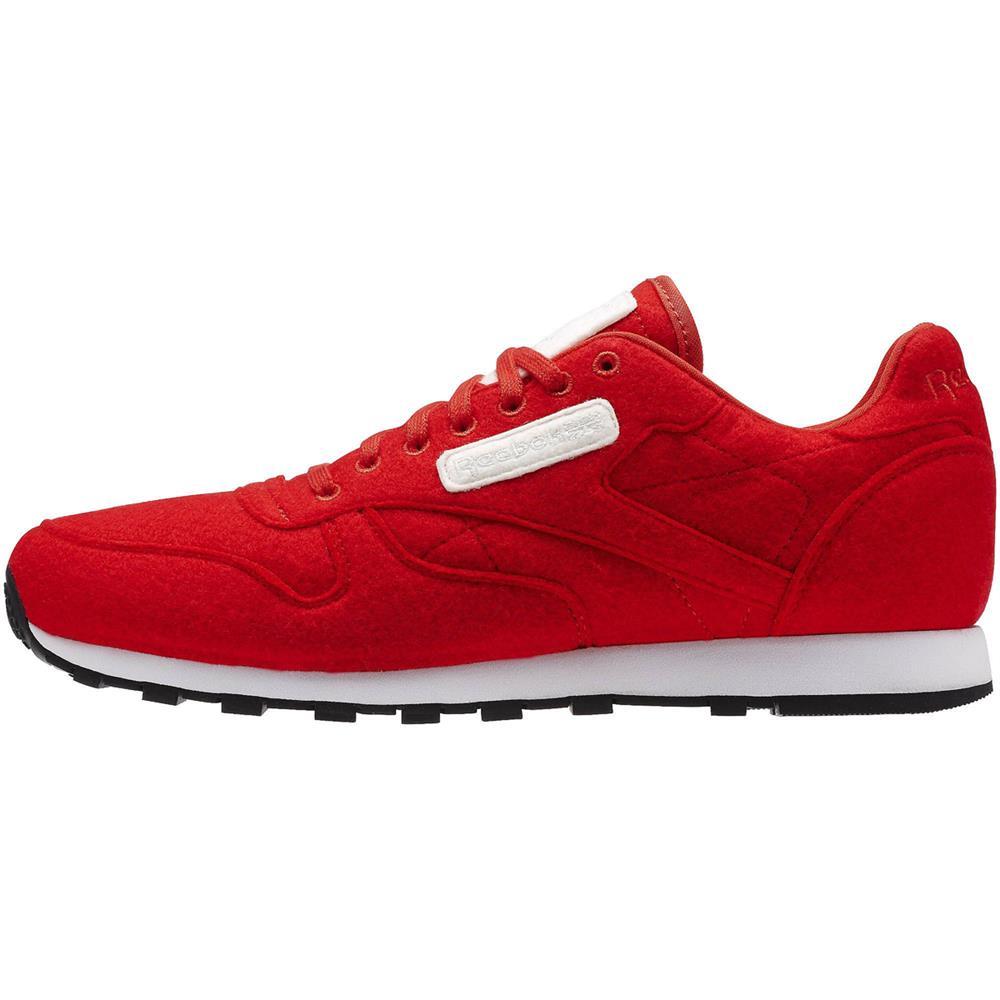 Reebok-Classic-CL-Zapatos-zapatillas-deporte-cuero-sneaker-gimnasia