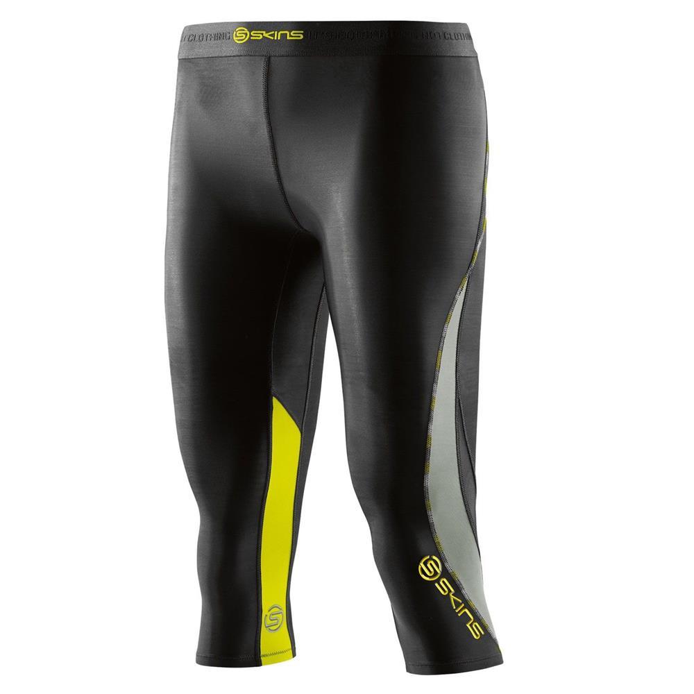 skins dnamic compression 3 4 tights damen trainingshose hose sporthose ebay. Black Bedroom Furniture Sets. Home Design Ideas