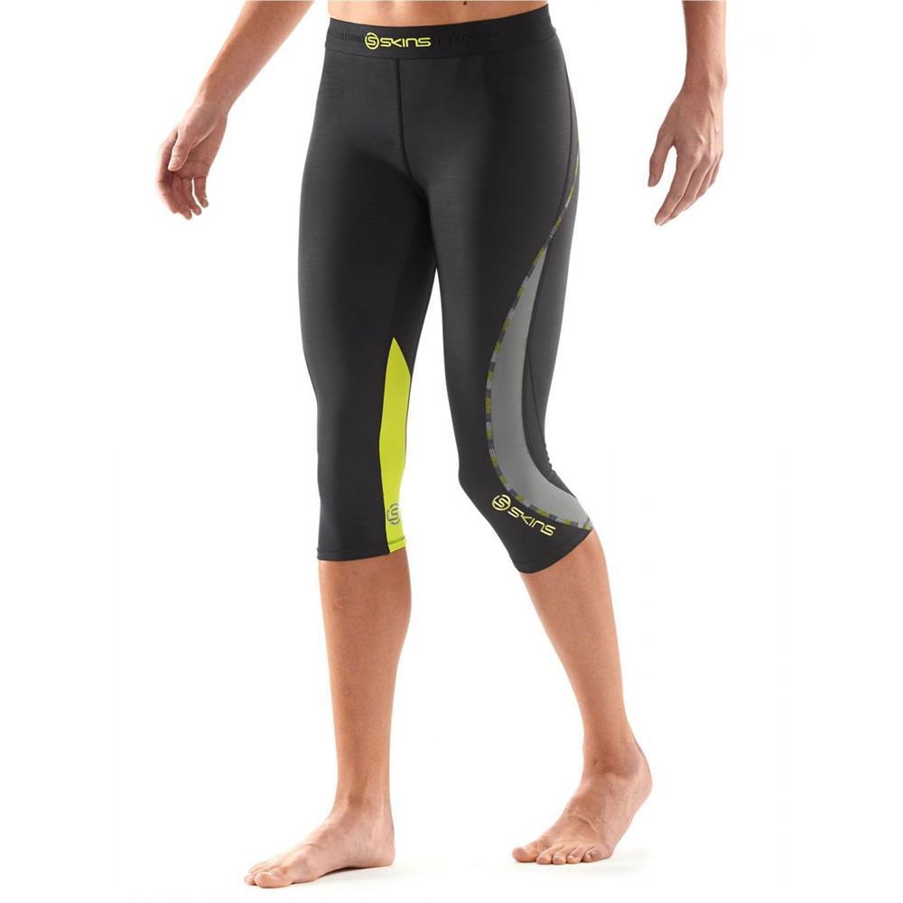 Skins DNAmic Compression 3//4 Tights Damen Trainingshose Hose Sporthose