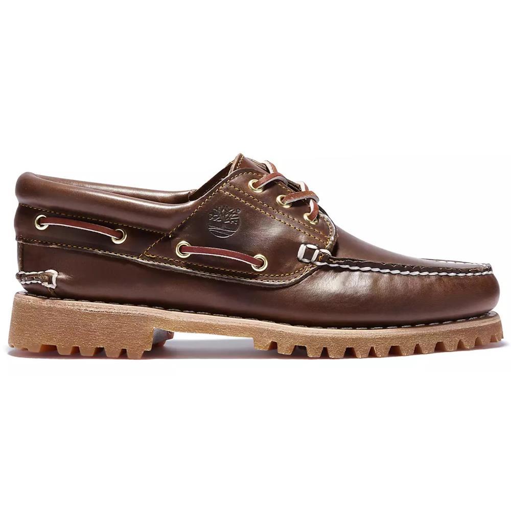 Details zu Timberland Authentics Handsewn 3 Eye Classic Bootsschuhe Schuhe Halbschuhe 30003