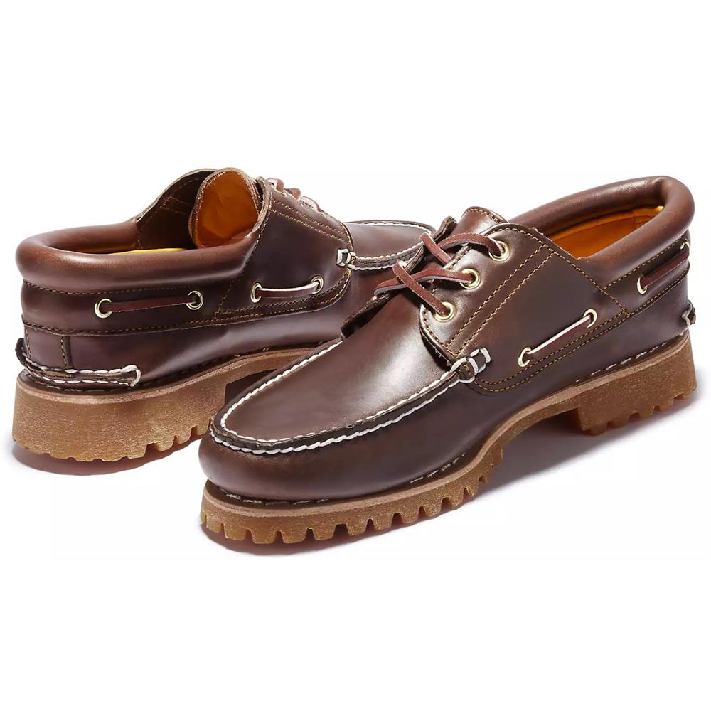 Timberland-Authentics-Handsewn-3-Eye-Classic-Bootsschuhe-Schuhe-Halbschuhe-30003 Indexbild 4