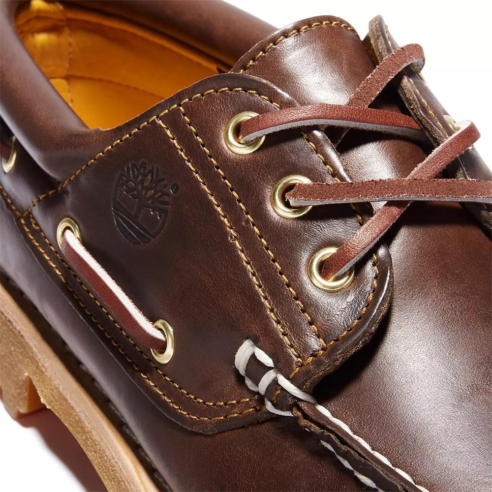 Timberland-Authentics-Handsewn-3-Eye-Classic-Bootsschuhe-Schuhe-Halbschuhe-30003 Indexbild 5