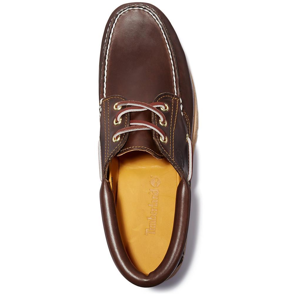 Timberland-Authentics-Handsewn-3-Eye-Classic-Bootsschuhe-Schuhe-Halbschuhe-30003 Indexbild 6
