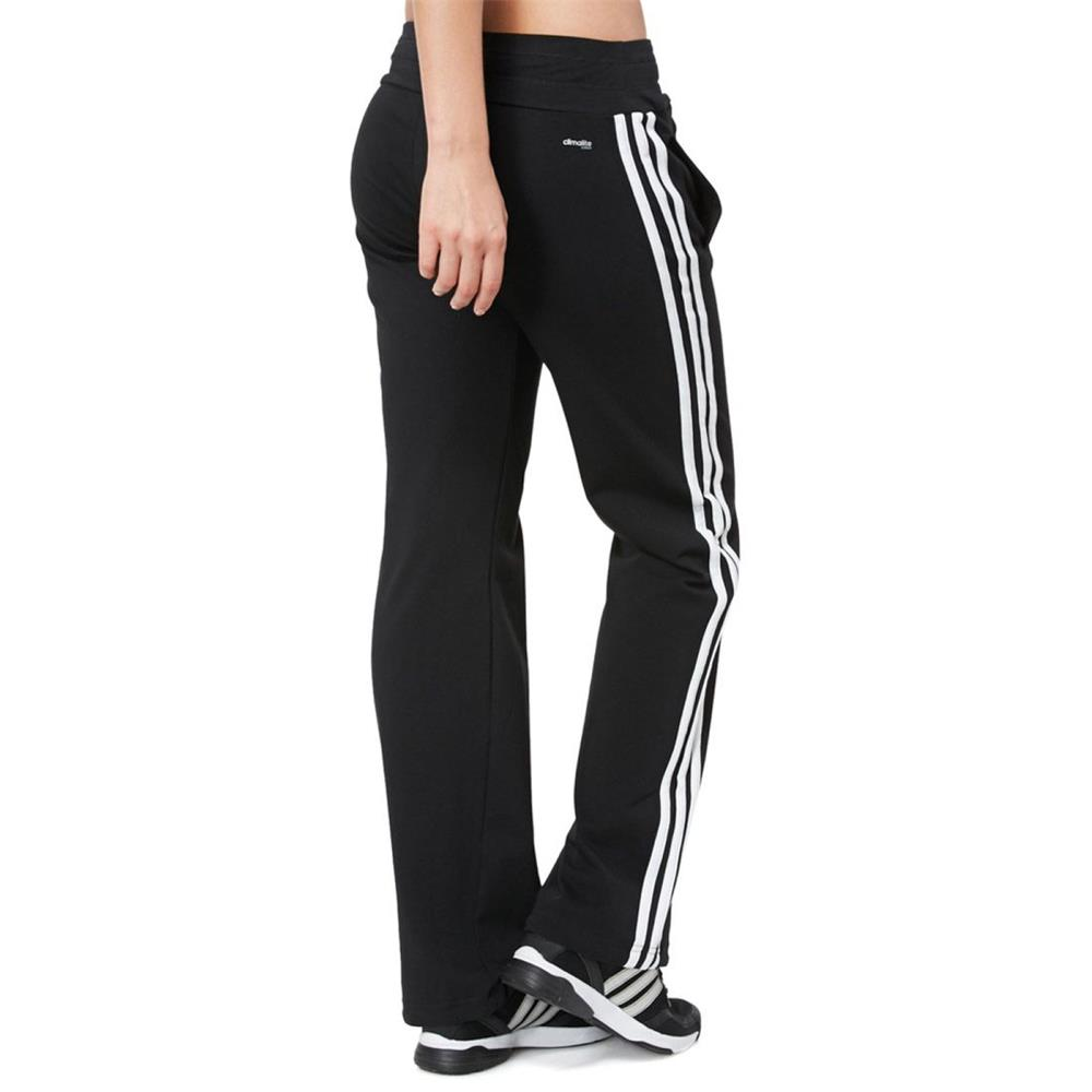 adidas ess 3s knit damen hose essentials sporthose. Black Bedroom Furniture Sets. Home Design Ideas