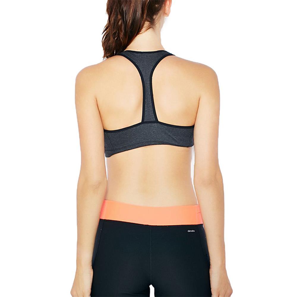adidas essentials 3s bra padded damen baumwolle sport bh ebay. Black Bedroom Furniture Sets. Home Design Ideas