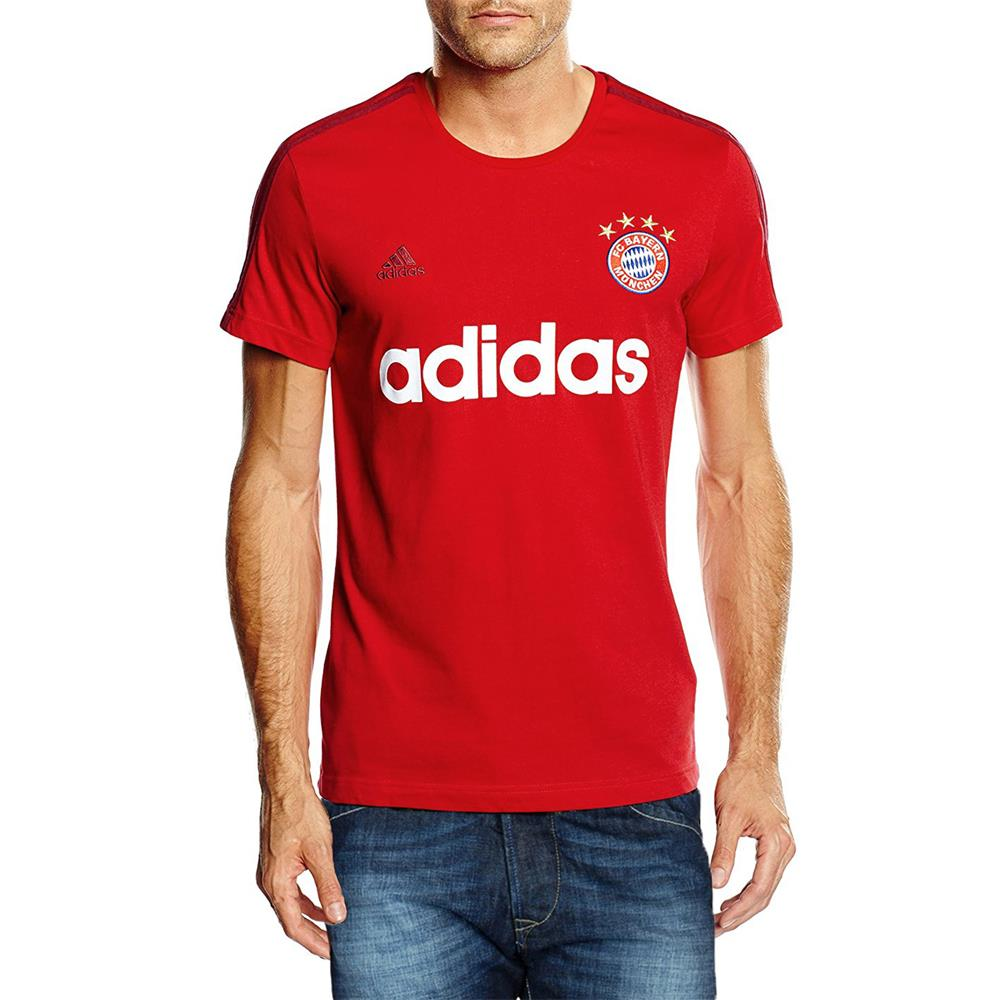 adidas fc bayern m nchen graphic tee shirt herren kurzarm. Black Bedroom Furniture Sets. Home Design Ideas