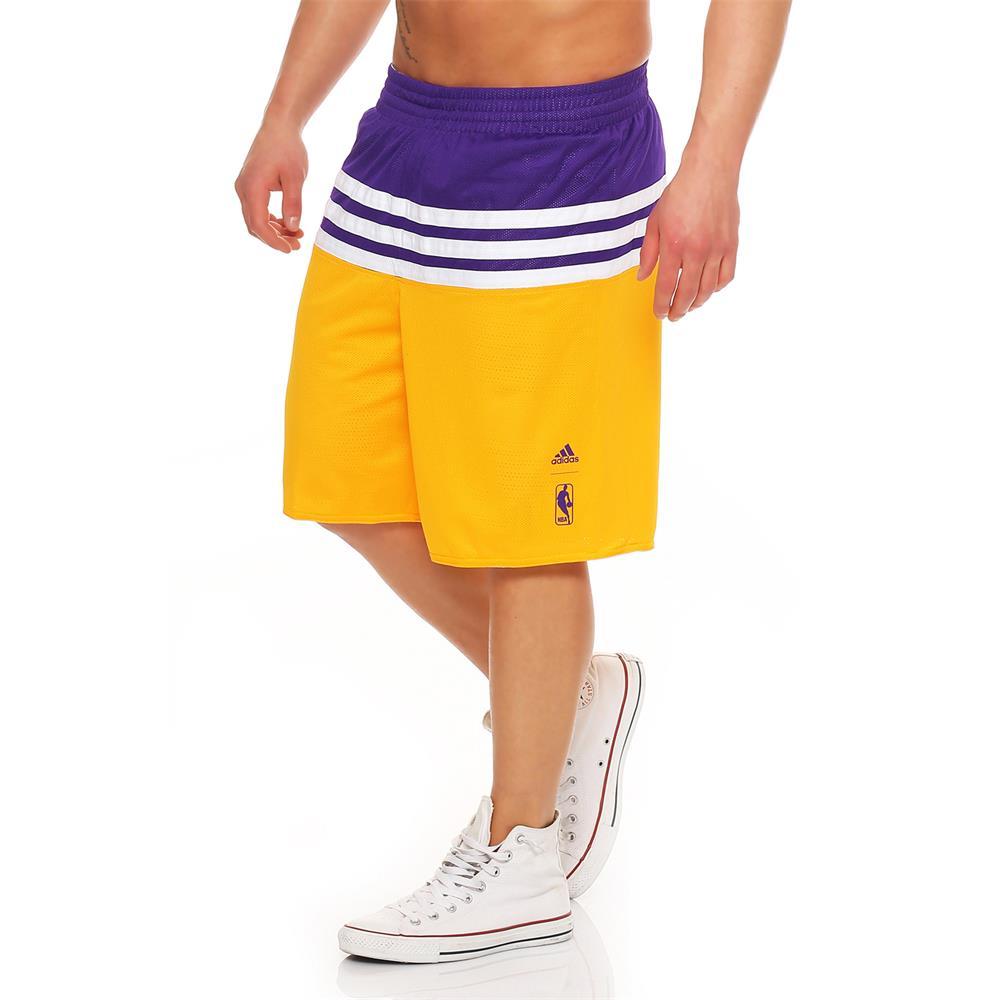 adidas-Bulls-Lakers-Nets-NBA-Team-Basketball-Shorts-Kurze-Hose