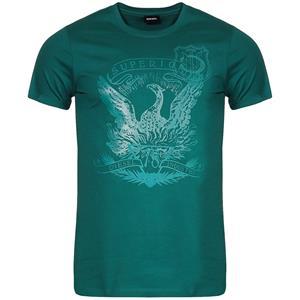 DIESEL T-Diego-Match Herren T-Shirt