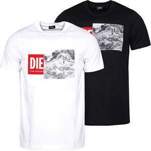 DIESEL T-Just-XH Herren T-Shirt