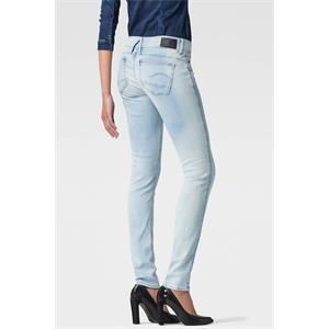 G-Star Lynn Zip Mid Waist Skinny Damen Jeans