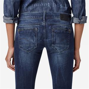 G-Star Midge Zip Low Waist Super Skinny Damen Jeans