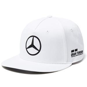 Mercedes AMG Petronas Lewis Hamilton Driver Flat Brim Cap