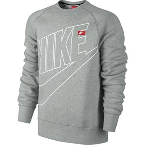 Nike Ace Fleece Crew-Neck Logo