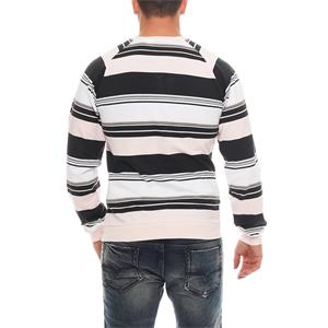 Nike Fusion Yarn Dyed Striped Crew Neck