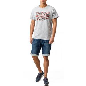 Pepe Jeans Cage Cut Short Herren Regular-Fit Jeans Shorts