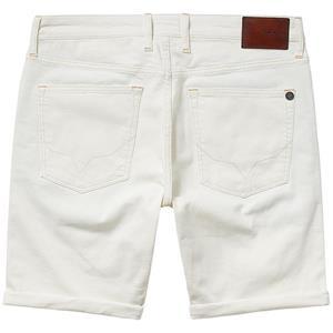 Pepe Jeans Stanley Ecru Short Herren Regular-Fit Jeans Shorts