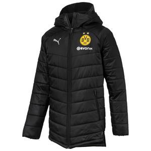 Puma BVB Dortmund Herren Bench Jacke