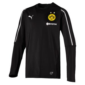 Puma BVB Dortmund Kinder Training Top Langarm Trikot