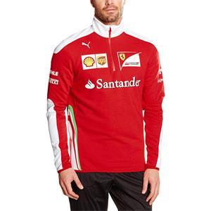Puma Scuderia Ferrari Team Formel 1 Half Zip Fleece