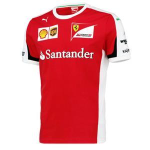 Puma Scuderia Ferrari Vettel Formel 1 T-Shirt