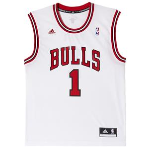 adidas Chicago Bulls Int. #1 Derrick Rose NBA Replica Trikot