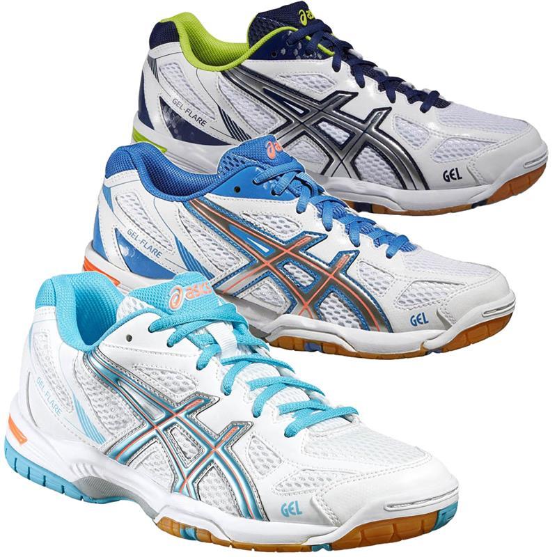 Details zu Asics Gel Flare 5 Hallenschuhe Volleyballschuhe Badmintonschuhe Schuhe Turnschuh