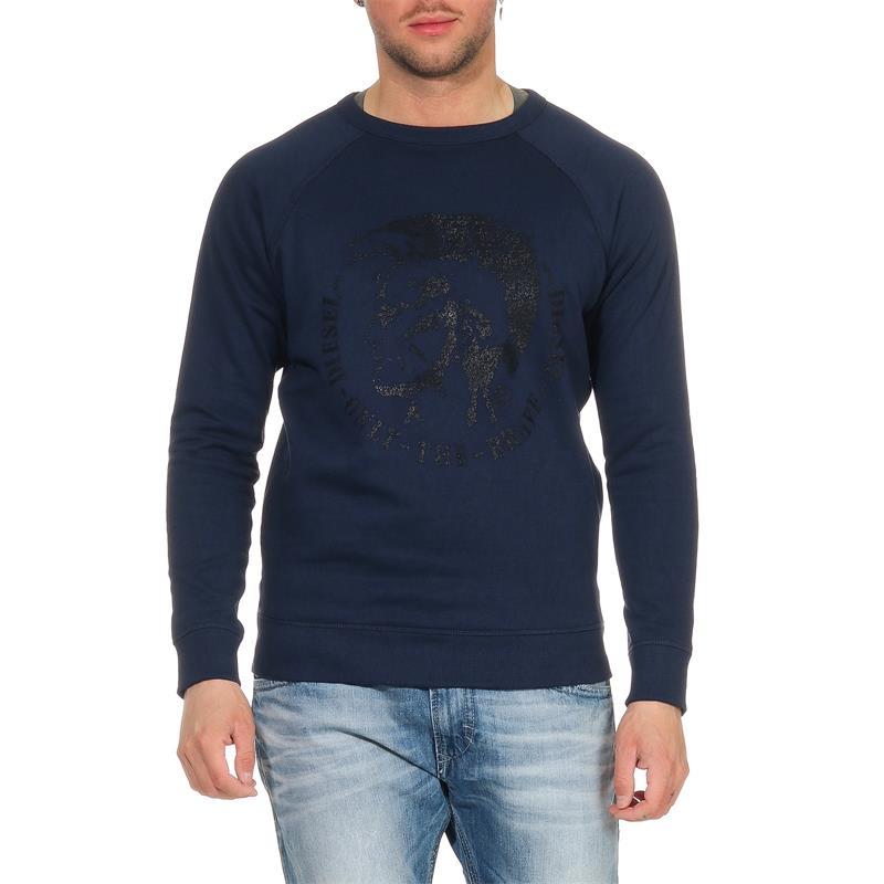 DIESEL S-Orestes-New Herren Sweatshirt