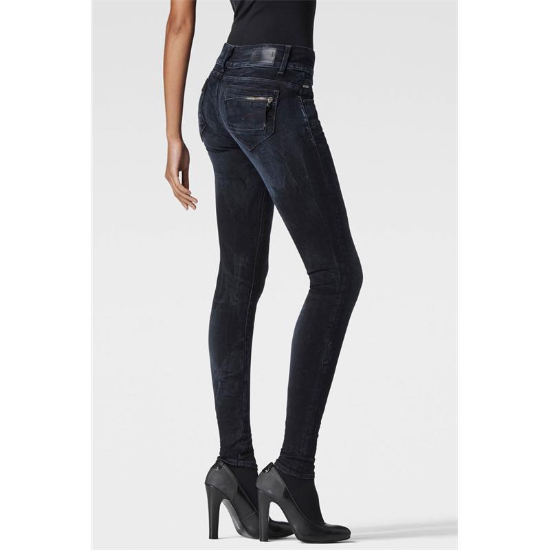 G-Star Midge Cody Mid Waist Skinny Damen Jeans