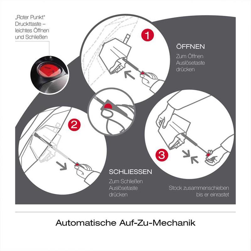Knirps Fiber T3 Duomatic Regenschirm Taschenschirm
