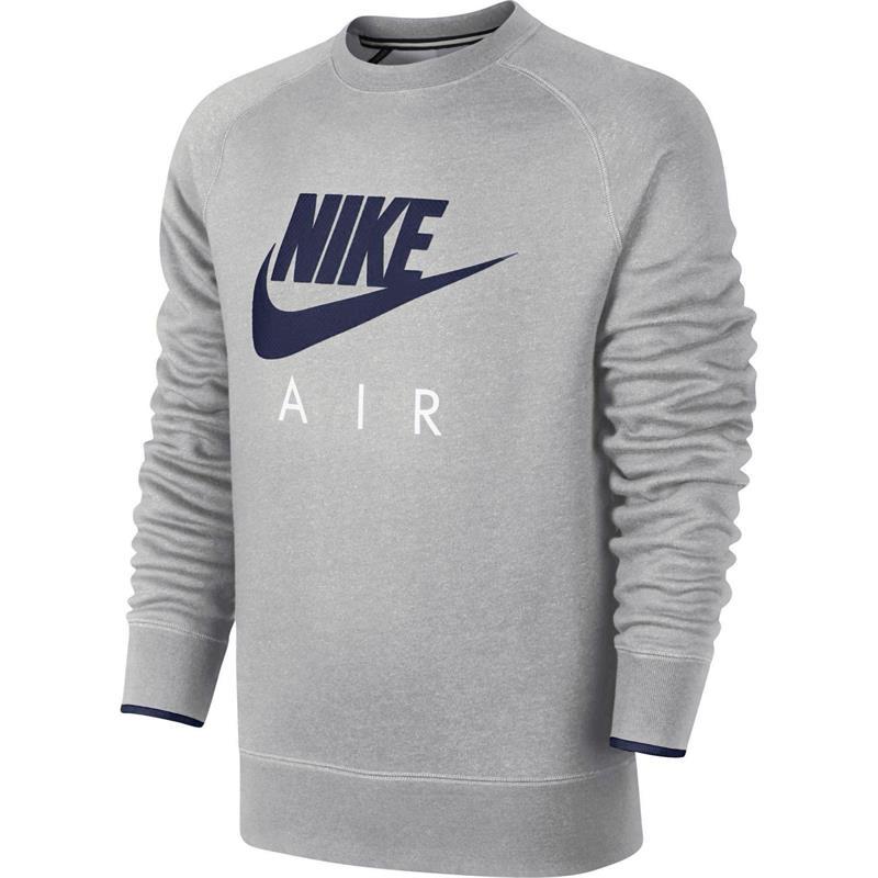 Details about Nike AW77 Air Heritage Mens Crewneck Sweatshirt Jumper Crew Neck show original title