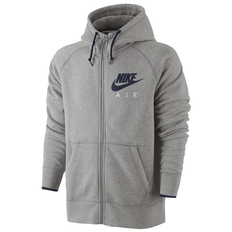 Details about Nike Air aw77 Heritage FZ Fleece Mens Hoody Sweatshirt Hoodie Hooded Jumper show original title