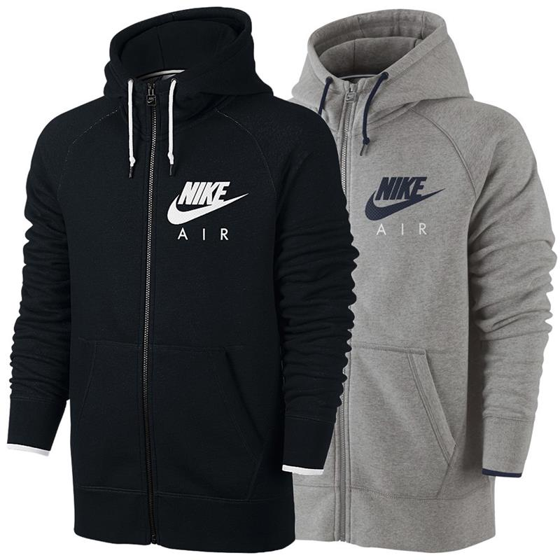 aefbba82ca92 Nike Air AW77 Heritage full zip fleece men s Hoody Sweatshirt ...