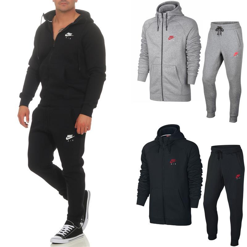 Heritage Herren Air Jogginghose Trainingsanzug Hoodie Nike